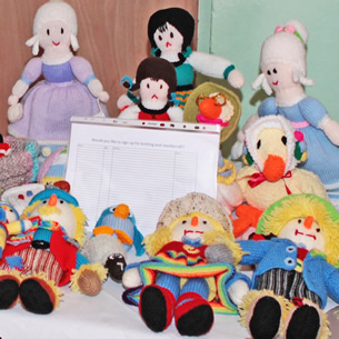knitted dolls shop